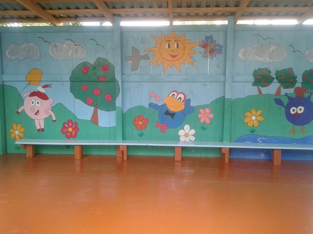 Украшения для беседки в детском саду своими руками фото